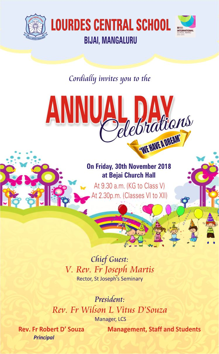 anual day celebration