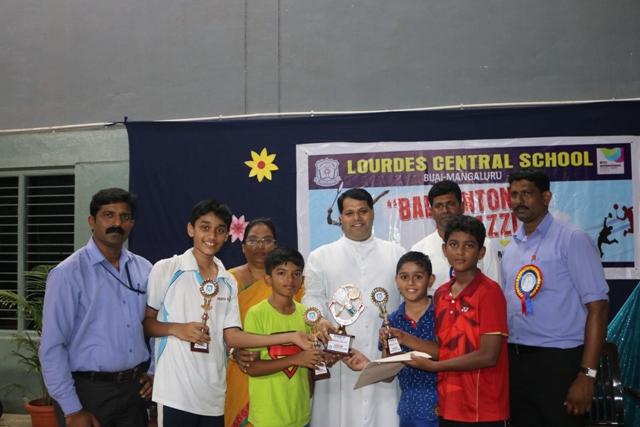 Lourdes Central school -Runners Up boys