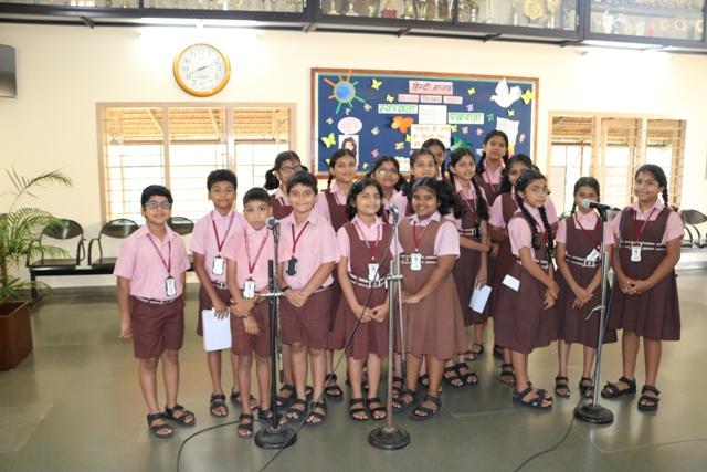 HINDI WEEK - Lourdes Central School Bejai Mangalore - CBSE
